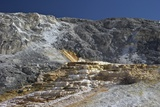 Mound Terrace, Mammoth Hot Springs, Yellowstone Nat'l Park, UNESCO Site, Wyoming, USA Photographic Print by Peter Barritt
