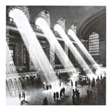 Hal Morey - Grand Central Station , New York , 1934 Umělecké plakáty