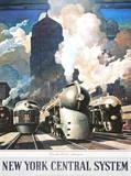 Bahnhof New York Poster von Leslie Ragan