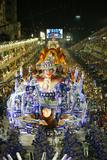 Carnival Parade at the Sambodrome, Rio de Janeiro, Brazil, South America Fotografie-Druck von Yadid Levy