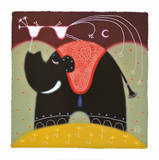 With Love (Elephant) Prints by Nazran Govinder