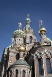 The Church of Spilled Blood, UNESCO World Heritage Site, St. Petersburg, Russia Photographic Print by Adina Tovy