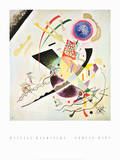 Blue Circle - Cercle Bleu Posters by Wassily Kandinsky