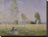 Summer, 1874 Stretched Canvas Print by Claude Monet