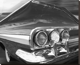 Chevy Tail Stretched Canvas Print by Richard James