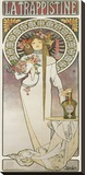 La Trappistine, 1897 Stretched Canvas Print by Alphonse Mucha