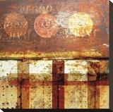 Beautiful Rust Stretched Canvas Print by Carolina Pecora