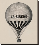 La Sirene Stretched Canvas Print by Unknown Unknown