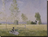 Summer, 1874 Stretched Canvas Print by Monet Claude