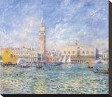 Vue de Venise, 1881 Stretched Canvas Print by Pierre-Auguste Renoir