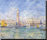 Vue de Venise, 1881 Stretched Canvas Print by Pierre-Auguste Renoir