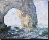 La Manneporte (Etretat), 1883 Stretched Canvas Print by Monet Claude