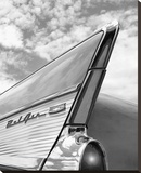 '57 Fin Stretched Canvas Print by Richard James