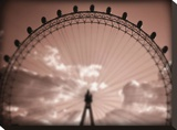 Ginormous Wheel Stretched Canvas Print by Michael Hudson