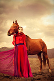 Scarlet Photographic Print by Nadja Berberovic