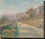 Road of La Roche Guyon, 1880 Stretched Canvas Print by Claude Monet