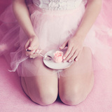 Ballerina's Secret Diet Photographic Print by Iness Rychlik