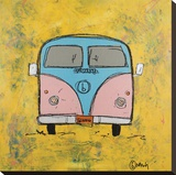 Van Stretched Canvas Print by Nash Brian
