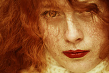 Freckle Face Photographic Print by Nadja Berberovic