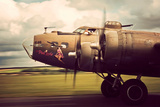 B-17G Flying Fortress Bomber Photographic Print by David Bracher