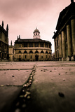 Moody Buildings in Oxford Photographic Print by Craig Howarth