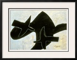 Reclining Nude Framed Giclee Print by Georges Braque