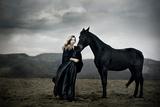 Epona Photographic Print by Nadja Berberovic