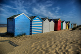 Southwold Beach Huts Photographic Print by Tim Kahane