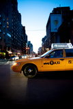 NYC Cab 2 Photographic Print by Craig Howarth