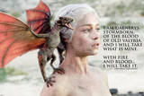 Game of Thrones - Daenerys Targaryen TV Poster Prints