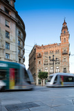 Seville Trams Photographic Print by Felipe Rodriguez