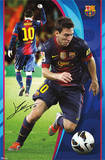 Lionel Messi - FC Barcelona Sports Poster Posters