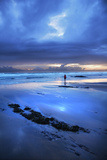 Cornish Blue Photographic Print by Tim Kahane