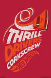 Hot Wheels Thrill Drivers Corkscrew Poster Posters