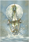 The Water Nymph Poster Posters by Grimly Gris