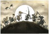 Trick or Treaters Poster Prints by Gris Grimly