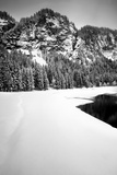 Lake and Mountains of Montriond Photographic Print by Craig Howarth