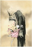 Zombie Affection Poster Prints by Gris Grimly