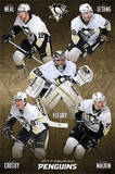 Pittsburgh Penguins Group Hockey Poster Poster