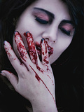 Bloodletting Photographic Print by Maria J Campos