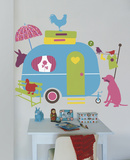 Caravan Giant Wall Decals Wall Decal