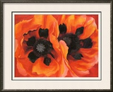 Oriental Poppies, 1928 Art by Georgia O'Keeffe