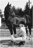 Rockingham Park Horse Racing 1975 Archival Photo Poster Plakaty