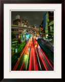 Zipping Through Tokyo Framed Photographic Print by Trey Ratcliff