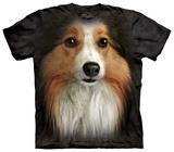 Sheltie Face T-Shirt