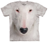 Bull Terrier Face Shirts