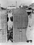 Strandleben, 1930 Fotografie-Druck von  Scherl