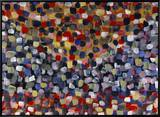 Abstract No. 20 Brushstroked Canvas by Diana Ong