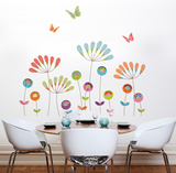 Colourful Pompoms Transfer Wall Decals Wall Decal