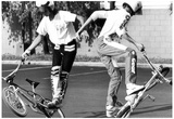 BMX Bike Tricks Archival Photo Poster Poster